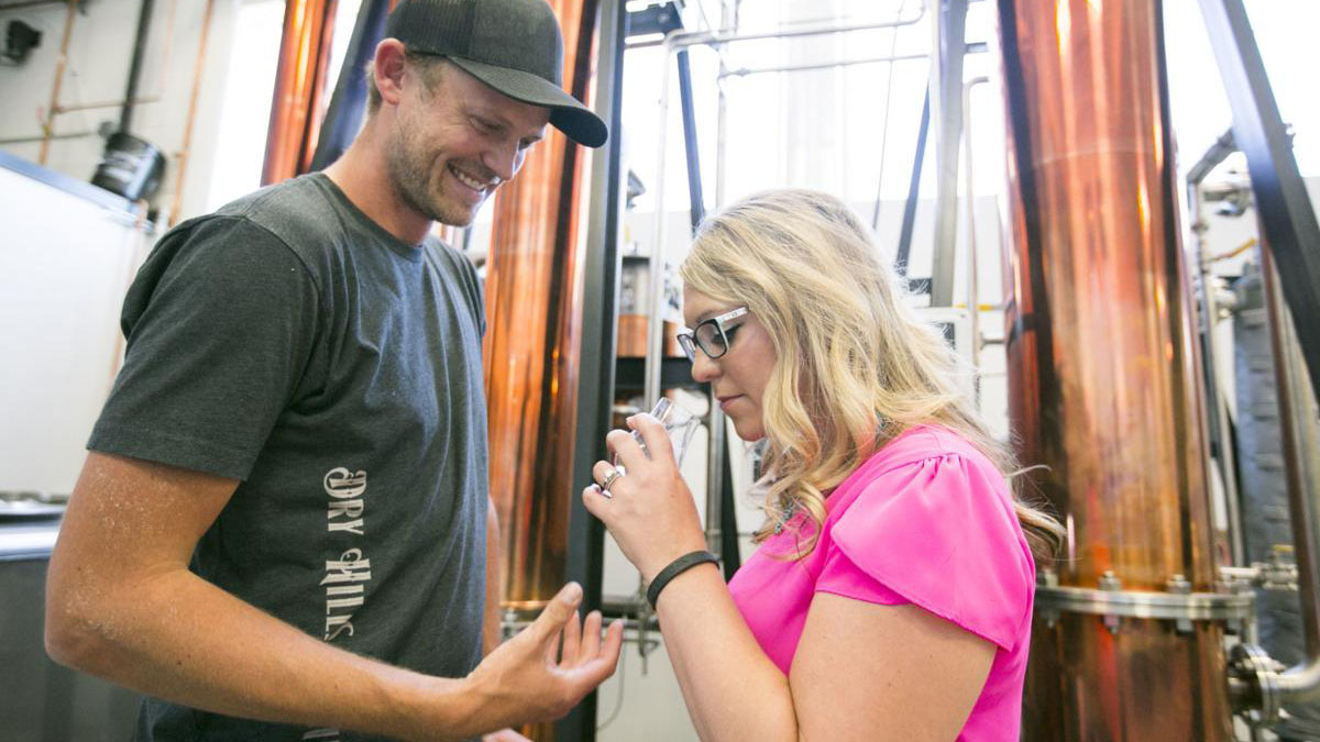 Dry Hills Distillery Opens Near Four Corners